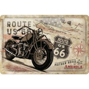 Route 66 Bike Map