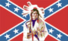 Flagge - Confederate Indian