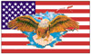 Flagge - USA Eagle